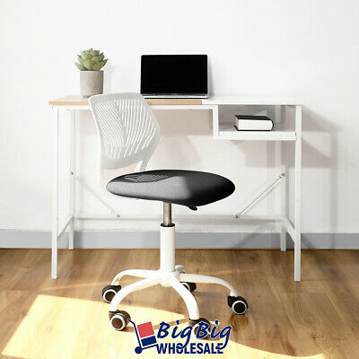 Office Chair Swivel Ergonomic Gray Plastic Mesh Kids Desk Comupter Study Room