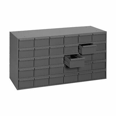 Metal 30 Bin Storage Drawer Cabinet Steel Parts Nuts Bolts Fasteners Screws