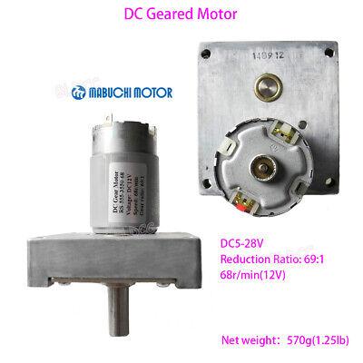 Mabuchi Dc 12v 24v High Torque Gear Motor Low Voltage Reversible Geared Motor Fy