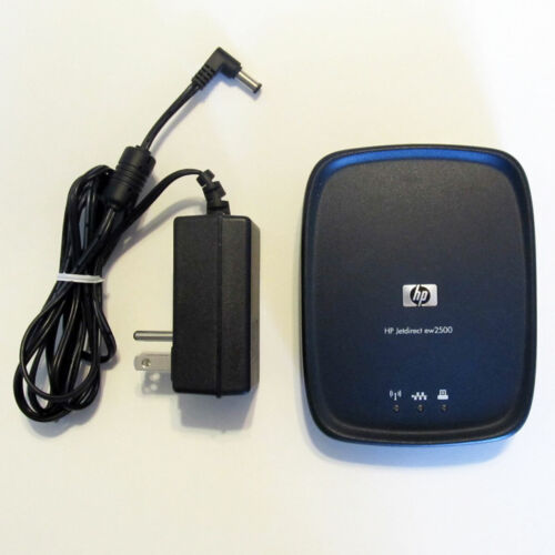 HP J8021A JetDirect EW2500 802.11G wireless print server