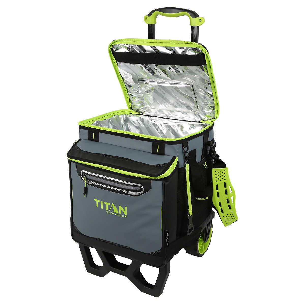 New Arctic Zone Titan Deep Freeze 60-Can Rolling Cooler-High