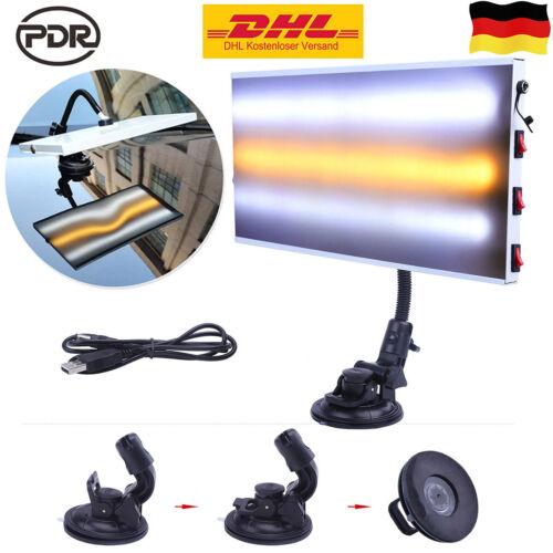 91x Ausbeulwerkzeug Dellenauszieher Gleithammer LED Lampe Dellen Reparatur Set