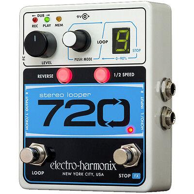 Electro Harmonix 720 Stereo Looper Pedal guitar effect pedal - 720 Looper