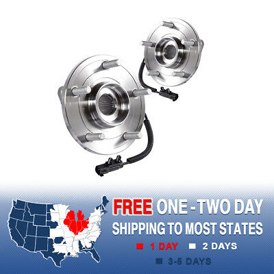 2 Front Wheel And Hub Bearing Assembly For Town & Country Grand Caravan Routan
