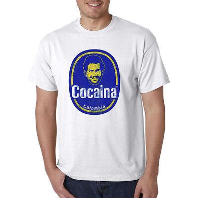 Pablo Escobar Cocaina Funny T Shirt   Narcos Cocaine Plata O Plomo Marijuana 420