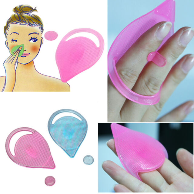 Magic Silicone Blackhead Remover Facial Face Brush Cleansing Pad Beauty Makeup