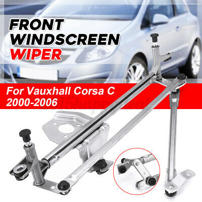 Front Windscreen Wiper Linkage For Vauxhall Corsa C 2000-2006 Tigra B 2004-2019