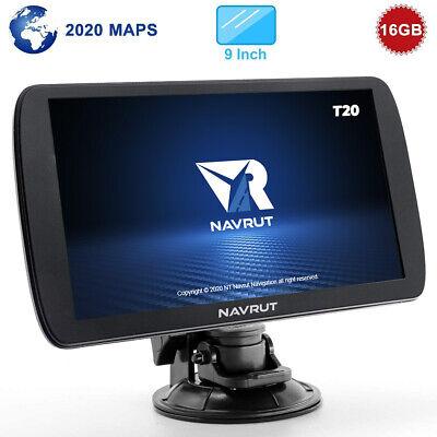Navrut T20 Navegador GPS Camion, Truck, Bus, Camper de 9 Pulgadas ORIGINAL...