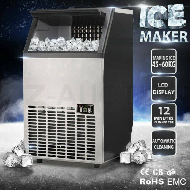 Ice Maker Machine 45~60KGDay Portable Ice Cube Auto ...
