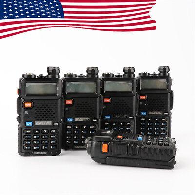 BaoFeng UV-5R 136-174/400-520MHz 5x Radio Walkie Talkie 2 way Dual-Band FM