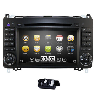 """7"""" GPS Navi Autoradio DVD Für Mercedes Benz B A Klasse W245 W169 Sprinter W906"""