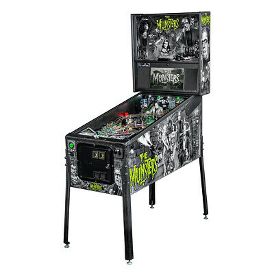 Stern The Munsters Black & White Premium Pinball Machine