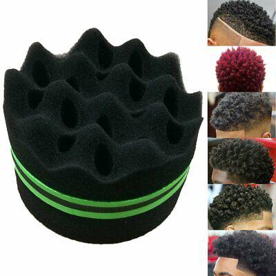 Barber Hair Brush Sponge Dreads Wave Double Side Locs Curl Twist Magic Tool