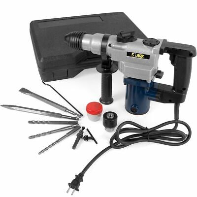 1 Electric Variable Speed Demolition Sds-plus Rotary Hammer Drill W Case
