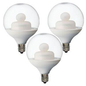 ge 62991 led 1 8 watt 10w equivalent g16 5 globe light. Black Bedroom Furniture Sets. Home Design Ideas
