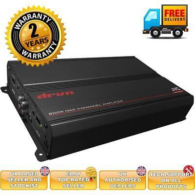 JVC KS-DR30044Channel Car Amplifier 800 Watts compact car amplifier