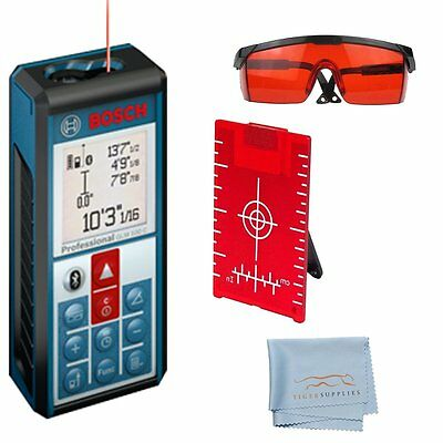 Bosch Glm100 C Laser Distance Meter Bluetooth Android Ios With Accessory Kit