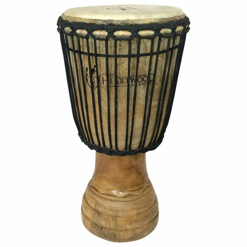 "Hand-carved Classical Heartwood Djembe Drum from Africa - 10""x20"""