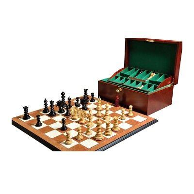 Ebony Chess Box (The Savano Series Luxury Chess set, Box, & Board Combination - Genuine Ebony and )