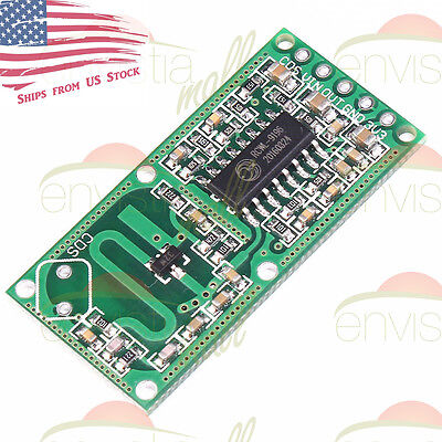 Microwave Doppler Radar Motion Detector Sensor RCWL-0516 Module Board ()