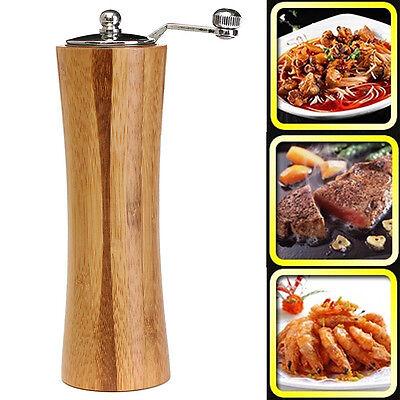 Vintage Wooden Salt Spice Sauce Corn Shaker ...