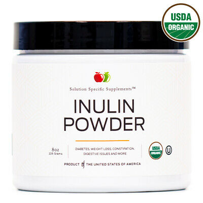 Organic Jerusalem Artichoke Inulin Powder - Bulk Prebiotic 6