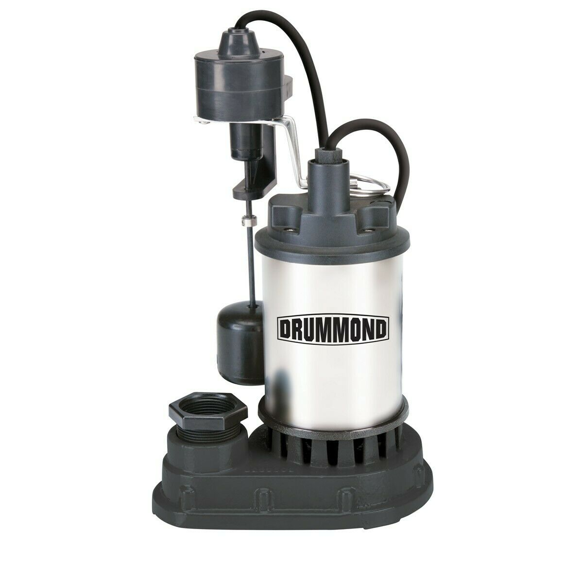 NEW DRUMMOND 1/3 HP Submersible Sump Pump With Heavy Duty Ve