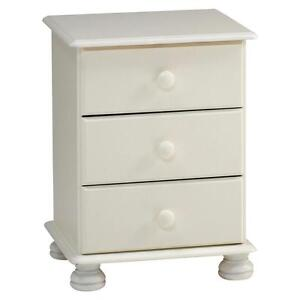 White Pine Bedside Cabinets