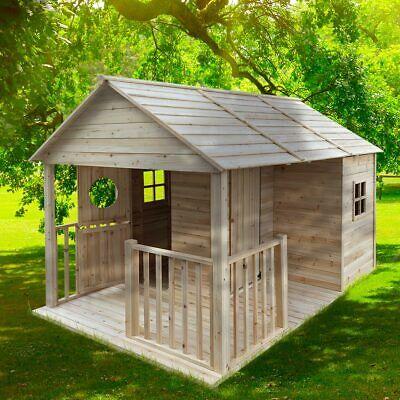 """BRAST Spielhaus """"Cottage"""" für Kinder 4,6qm Kinderspielhaus Garten Holzhaus"""