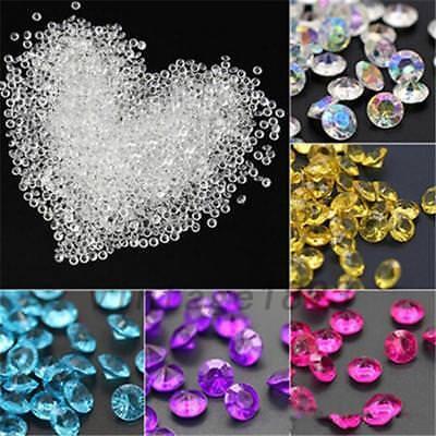5000pcs Crystals Wedding Supplies Valentines' Day Acrylic Diamond Vase Filler US (Valentines Supplies)