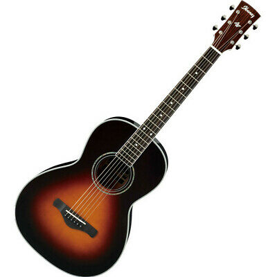 Ibanez 2015 AVN1-BS Artwood Vintage Parlor Acoustic Guitar NEW complete w/ Case