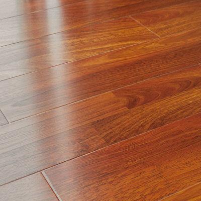 12mm Laminate Flooring LessCare Brazilian Cherry Smooth -