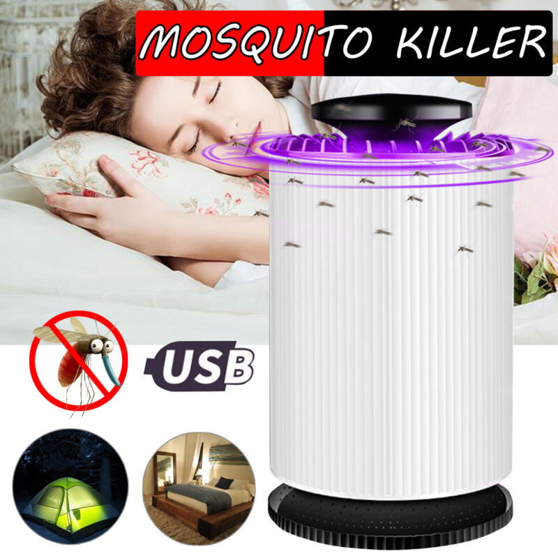 LED Light Electronic Mosquito Killer Home Indoor Insect Bug Trap Pest