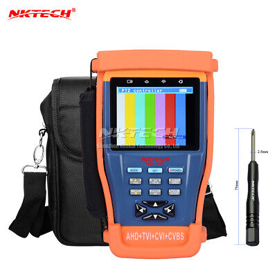 Nktech Nk-895 4in1 Cctv Surveillance Camera Tester Ahd Tvi Analog Video Monitor