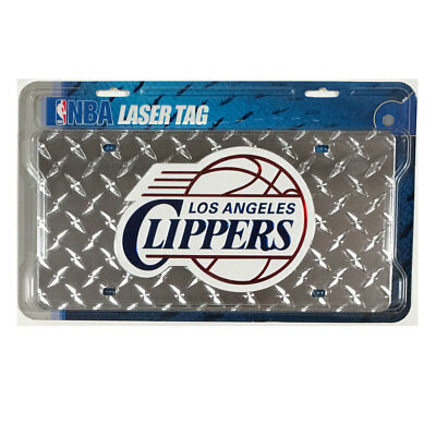 New NBA Los Angeles Clippers Diamond Laser Tag Car Truck Acrylic License Plate