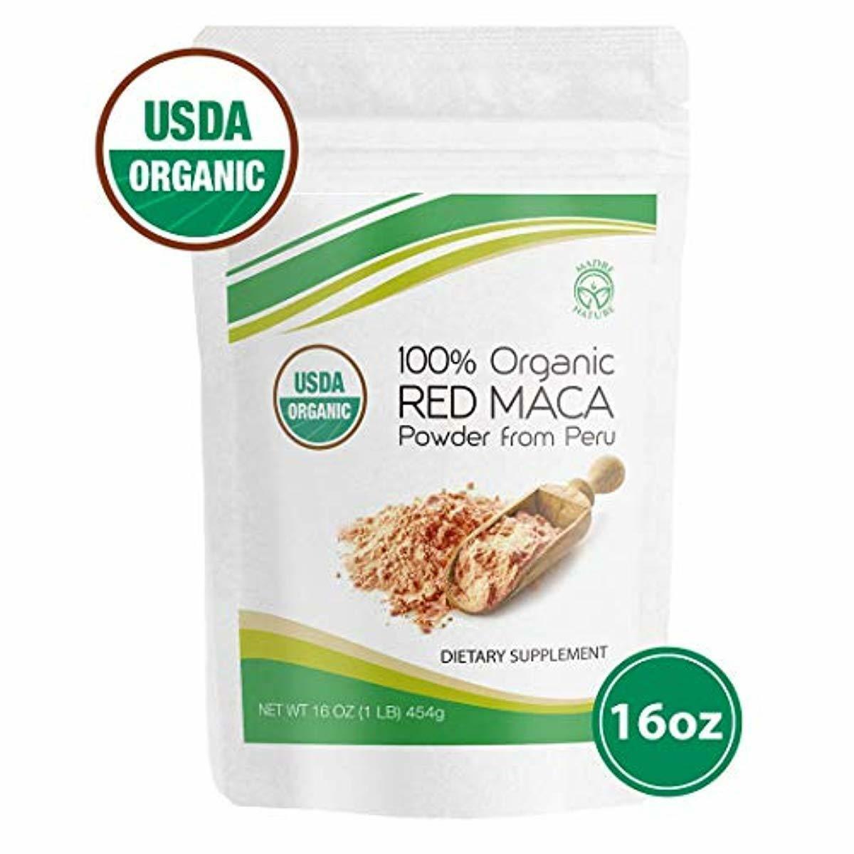 Madre Nature - 100% Peruvian Organic Gelatinized Red Maca Po