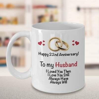 22nd Anniversary Gift Ideas For Husband 22nd Wedding Anniversary Gift  ()