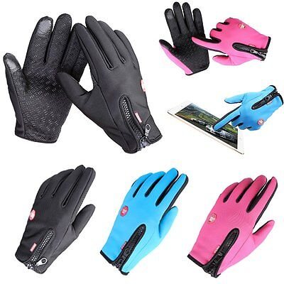 Thermal Snow - New Women Men Sports Warm Thermal Windproof Ski Snow Motorcycle Snowboard Gloves