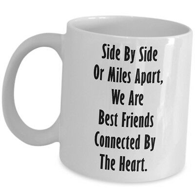 Gift For Best Friend Coffee Mug Long Distance Friendship Her Him Cup Cute