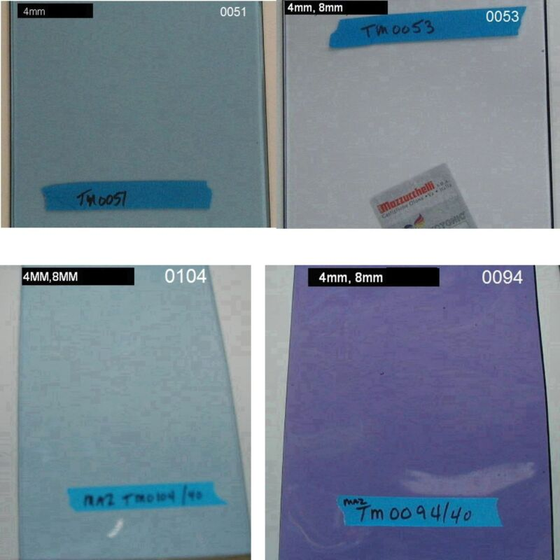 Cellulose acetate plastic Mazzucchelli Vintage Raw O.E. Extruded Sheets!!  /Each