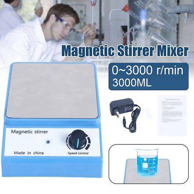 Us Plug 3000rpm 100-240v Magnetic Stirrer Laboratory Magnetic Mixer 3000ml Lab