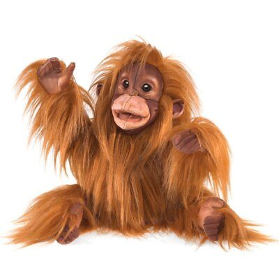 Folkmanis Baby Orangutan Hand Puppet
