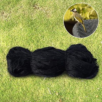 2x2 Anti Bird Netting 25x50 Soccer Baseball Game Poultry Fish Net Mesh Black