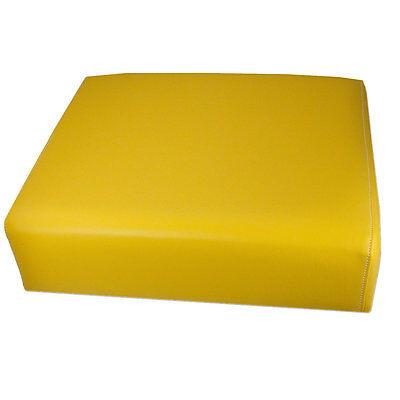 John Deere 420 430 435 440 Yellow Bottom Seat Cushion