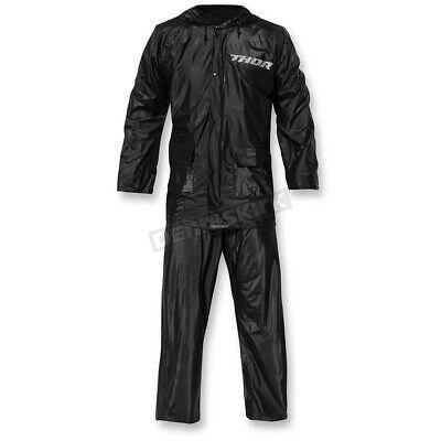 Thor Black Rain Suit ( Unisex Size: XL / X-Large ) 2851-0466