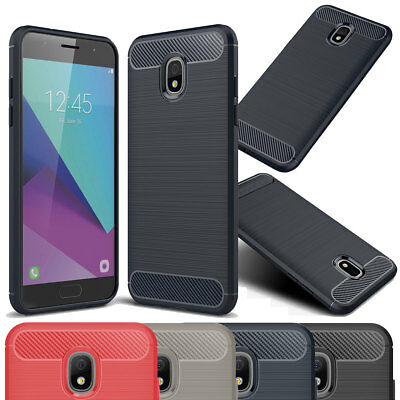 Rugged Silicone - Hybird Silicone Rugged Brushed Case Cover for Samsung Galaxy J7 Star / J7 2018