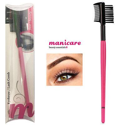 Eyebrow Comb Grooming Definer Brow Lash Brush Eye Makeup Eyelash Double Dual (Eyelash Definer)