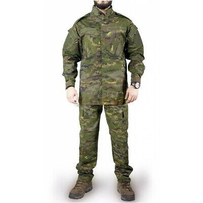 Uniforme estilo militar completo ACU (talla L)+Coderas y rodilleras env24/48h