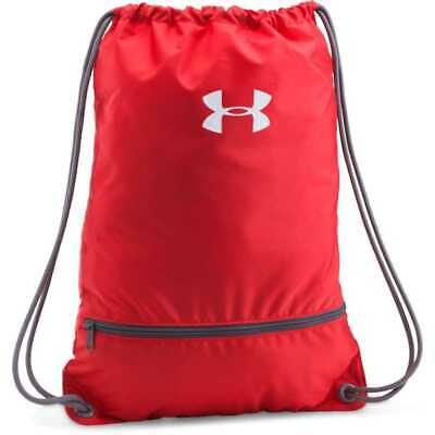 Under Armour Team Sackpack Backpack, One Size Navy Red New