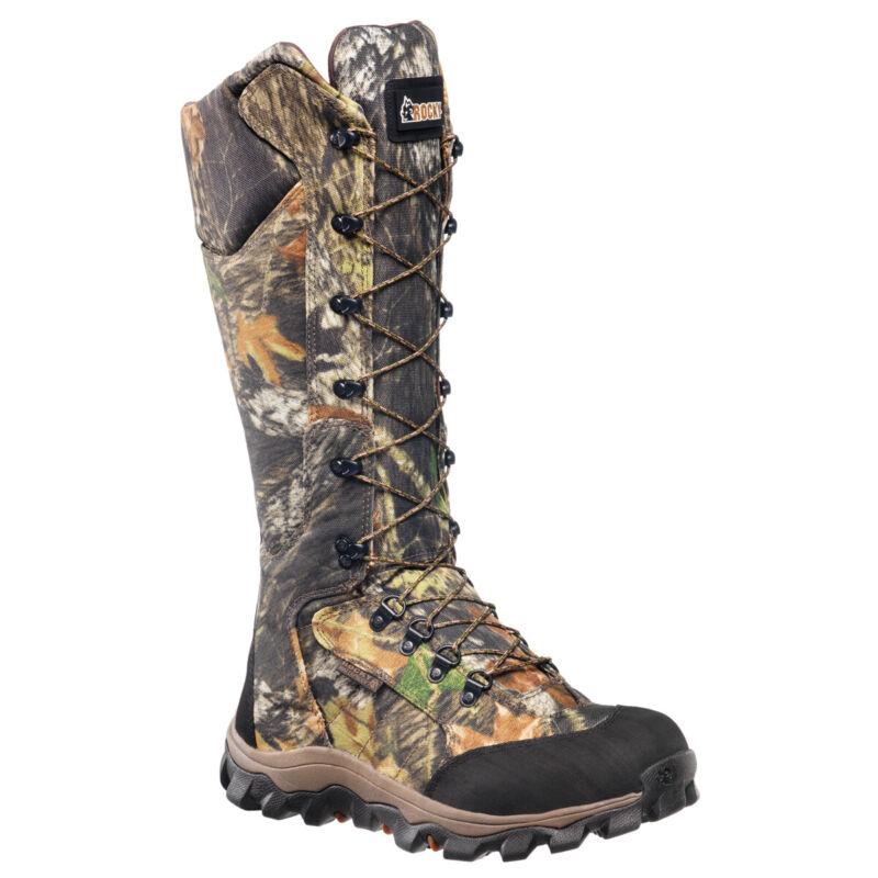 Rocky Lynx Mens MOBU Camo Cordura Nylon Waterproof Snake Hunting Boots